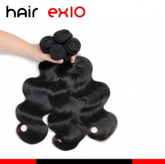 10A Peruvian Virgin Hair Human Hair Bundles Body Wave 3Bundles Hair Weave Bundles Unprocessed Human Hair