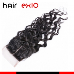 10A Factory Price Lace Closure Natural Wave Lace Closure Top Closures Virgin Human Hair Closure
