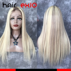 "T(RG)#AA 1""/P#60 20inch Virgin hair Full Lace Wig 180% Straight hair Virgin Hair Human Hair Wigs"