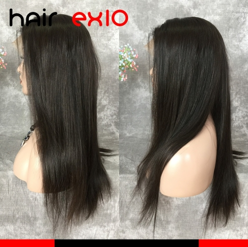 360 Lace Wig Density 180% Brazilian Virgin hair Straight Hair Unprocessed Virgin 360 Lace wig Human Hair Virgin Hair For Black Women