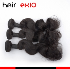Brazilian hair 3pcs Bundle Human Hair Bundles Virgin Loose Wave Hair Hair Extensions Hot Sale 9A 100g Hair Bundles
