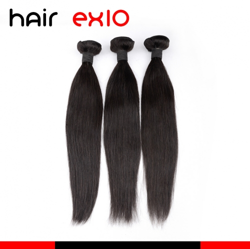 Brazilian hair 3pcs Bundle Unprocessed Virgin Hair  Human Hair Bundles Straight Hair Fast Shipping