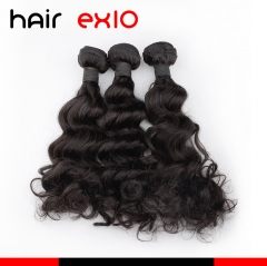 Brazilian hair 3pcs Bundle Human Hair Bundles Virgin Ocean Wave Hair Hair Extensions Hot Sale 9A 100g Hair Bundles