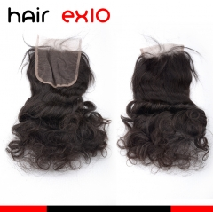 "Human Hair Products Closure Loose Wave Human Hair Lace Top Closure(4""*4"") Lace Closure"
