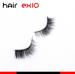 3DD06 3D Mink Eyelashes Real Mink Handmade Crossing Lashes Individual Strip Thick Lash Fake Eyelashes