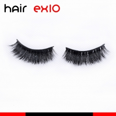 3D622 3D Mink Eyelashes Real Mink Handmade Crossing Lashes Individual Strip Thick Lash Fake Eyelashes