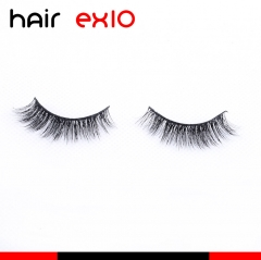3D518 3D Mink Eyelashes Real Mink Handmade Crossing Lashes Individual Strip Thick Lash Fake Eyelashes
