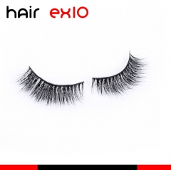 3DD05 3D Mink Eyelashes Real Mink Handmade Crossing Lashes Individual Strip Thick Lash Fake Eyelashes
