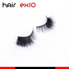 3D402 3D Mink Eyelashes Real Mink Handmade Crossing Lashes Individual Strip Thick Lash Fake Eyelashes
