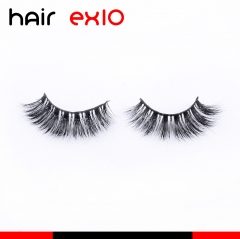 3D408 3D Mink Eyelashes Real Mink Handmade Crossing Lashes Individual Strip Thick Lash Fake Eyelashes