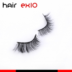 3D403 3D Mink Eyelashes Real Mink Handmade Crossing Lashes Individual Strip Thick Lash Fake Eyelashes