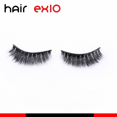 3D621 3D Mink Eyelashes Real Mink Handmade Crossing Lashes Individual Strip Thick Lash Fake Eyelashes
