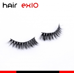 3D620 3D Mink Eyelashes Real Mink Handmade Crossing Lashes Individual Strip Thick Lash Fake Eyelashes