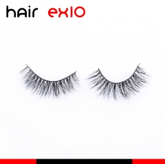 3D410 3D Mink Eyelashes Real Mink Handmade Crossing Lashes Individual Strip Thick Lash Fake Eyelashes
