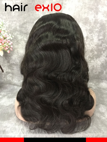 360 Lace Front Wig Density 150% Brazilian Virgin hair Body Wave Unprocessed Virgin 360 Lace wig Human Hair Wig Virgin Hair For Black Women