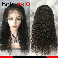 Lace Front Wigs Virgin Brazilian hair Human Hair Wigs Human Hair Wigs Natural Color Curly Wig Deep Wave Lace Wigs