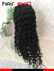 Lace Front Human Hair Wigs Virgin Brazilian hair Ocean Wave Virgin Hair Human Hair Wigs
