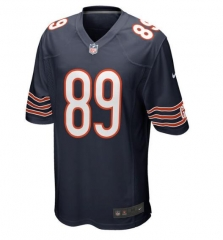 JOE Mike Ditka Chicago Bears  Retired Game Jersey - Navy Blue/white