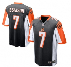 JOE Boomer Esiason Cincinnati Bengals Retired Player Jersey - Black/White/Orange