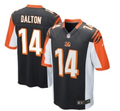 JOE Andy Dalton Cincinnati Bengals  Game Jersey - Black/orange/white