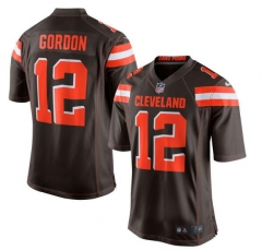 JOE Josh Gordon Cleveland Browns  Game Jersey - Brown/black
