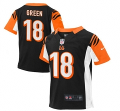 JOE AJ Green Cincinnati Bengals  Preschool Game Jersey – Black/brown/orange