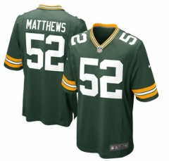 Clay Matthews Green Bay Packers Game Jersey - Green/white