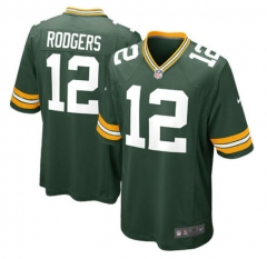 JOE Aaron Rodgers Green Bay Packers  Game Jersey - White/green
