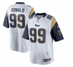 Aaron Donald Los Angeles Rams  Game Jersey - Navy、white