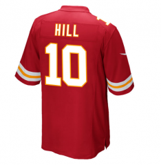 Tyreek Hill Kansas City Chiefs  Game Jersey - Red/white