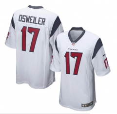 Brock Osweiler Houston Texans  Game Jersey - Navy/red/white