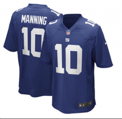 Eli Manning New York Giants  Game Jersey - Royal Blue/white