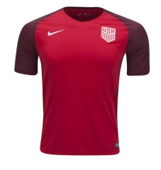 [JOE] Adult USA third red fans version soccer jerseys 2017-18