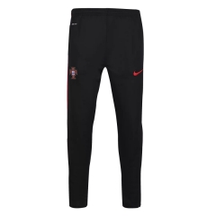 [JOE] Adult Portugal red edge black training long pants 2016-17