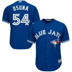 [JOE] Men's Toronto Blue Jays OSUNA #54 Majestic Royal Alternate Cool Base Player Jersey