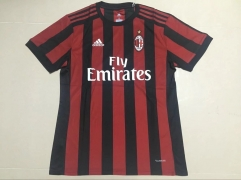 Adult Ac Milan Home Red fans version jersey 17/18