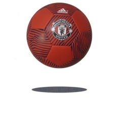 [JOE] Soccer Ball size 5- AD- Manchester United -Machine Sewing-Red Colors
