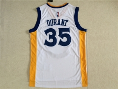 [JOE] Kevin Durant #35 Golden State Warriors Champion Best FMVP Jerseys 2017