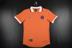 [JOE] Men's retro Netheland home orange jersey  1997-98