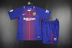 [JOE] Youth Barcelona Home Kids Sets 2017/18