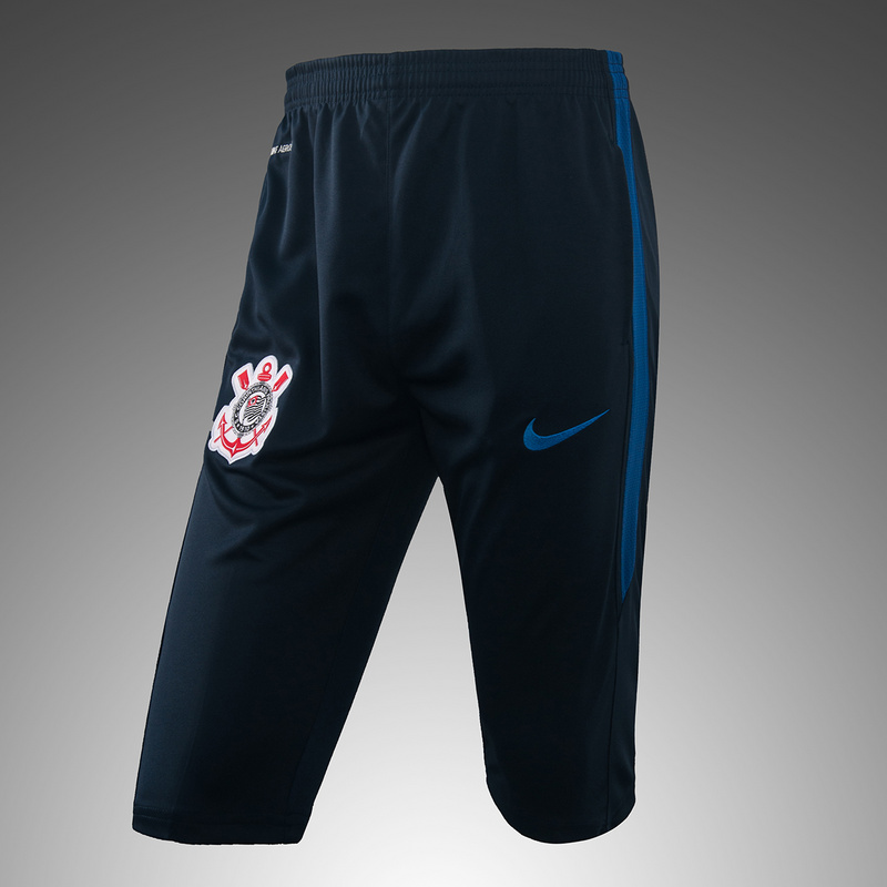 [JOE] Adult Corinthians blue training fifth pants 2017