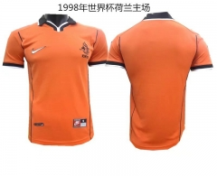 [JOE] Men's retro Netheland home orange jersey  1998