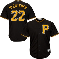 [JOE] #22 Andrew McCutchen Pittsburgh Pirates Majestic Cool Base Player Jersey - Black