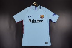 [JOE] Barcelona Away Blue Jersey,Player version ,2017/18