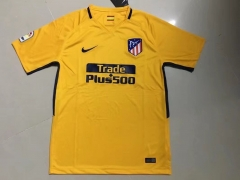Atletico Madrid Away Yellow Fans Version Jersey 2017-18