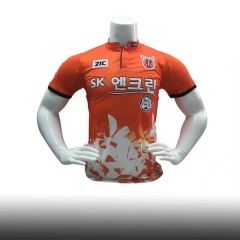[JOE] Adult Jeju United FC Home Orange Jersey,Fans version ,2017/18 제주 유나이티드 FC