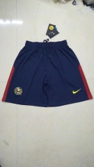 [JOE] Adult Club America Home Blue Soccer Shorts Pants 2017/18