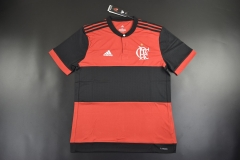 [JOE] Adult Flamengo RJ Home Red Fans Version Jersey,Made In Brasil,Without Banners 2017/18