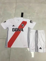 [JOE] Youth River Plate Home White Sets,2017/18,Jersey+Shorts