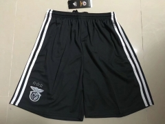 [JOE] Adult Benfica Away Black Soccer Shorts Pants,Thai AAA,2017/18